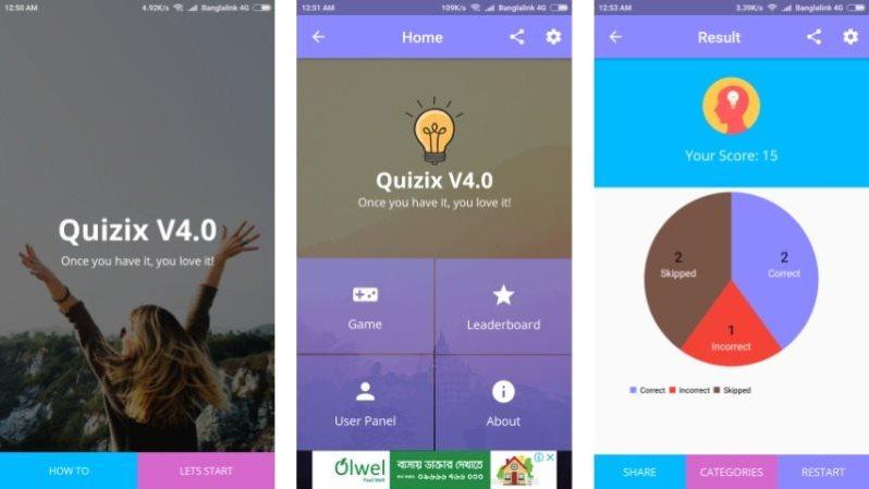 15 Quiz and Trivia App Templates for Android - Tech Buzz Online