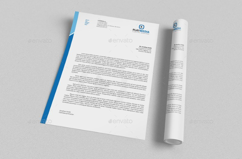 Corporate Letterhead with MS Word