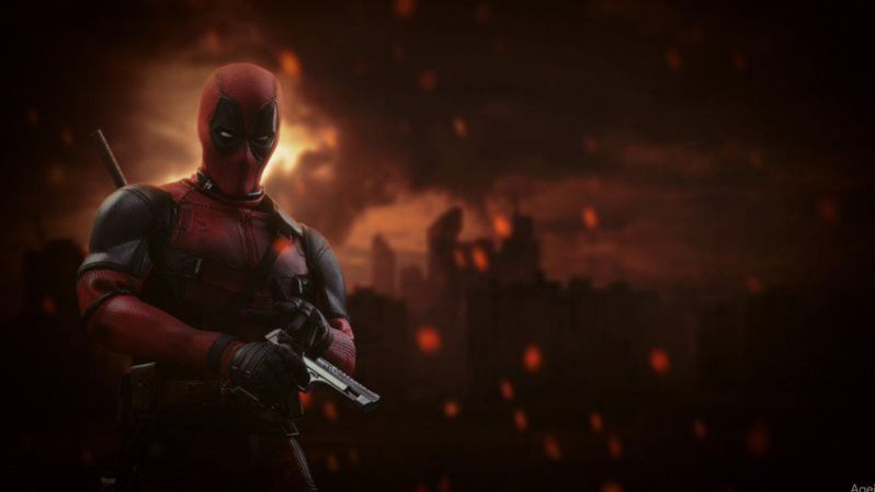 Deadpool Marvel Superhero