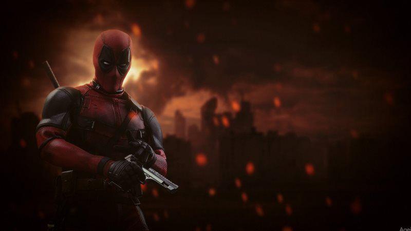 Deadpool Marvel Superhero