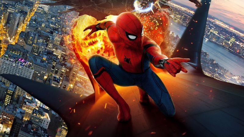Spider Man Homecoming Movie HD Wallpaper