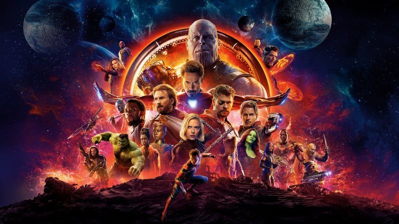 Avengers Infinity War Full Casts Poster