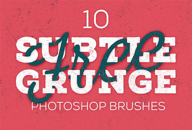 30 High-Resolution Grungy Photoshop Brush Packs