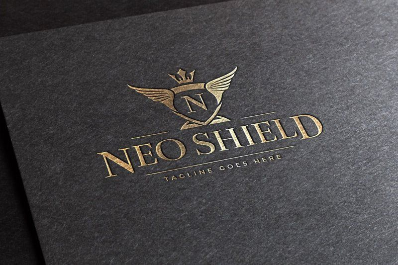 Neo Shield Logo Template