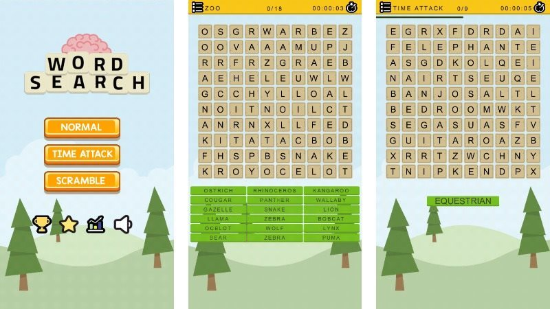 Word Search Game with Admob Android Studio and Eclipse