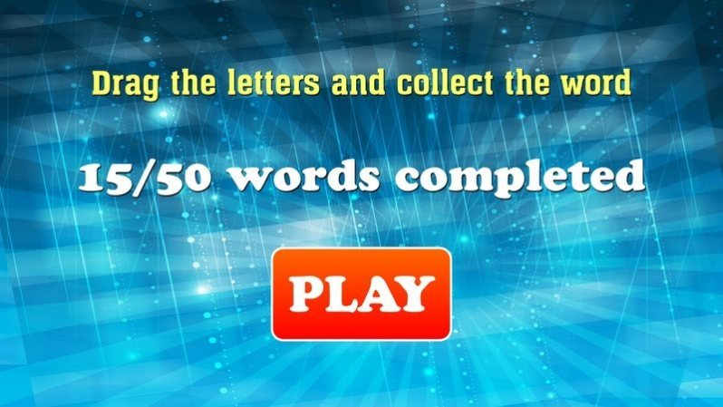Words Game with AdMob