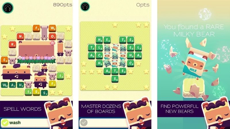 Alphabear Word Puzzle Game