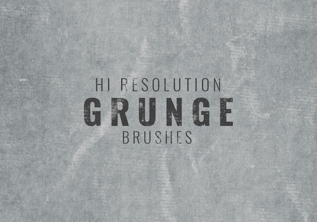 hi resolution grunge background brushes
