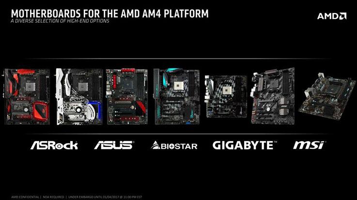 Schede madri che supportano AMD Ryzen