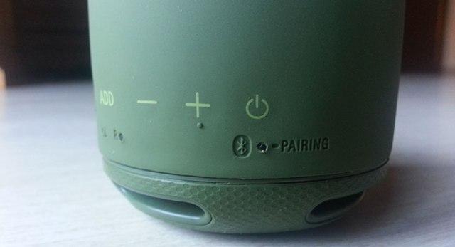 Sony SRS-XB10: tasti funzione