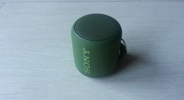 Sony SRS-XB10: vista frontale
