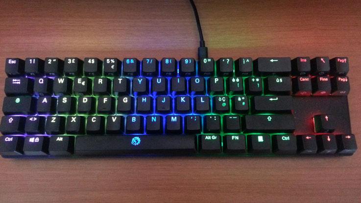 Illuminazione RGB della DREVO Calibur