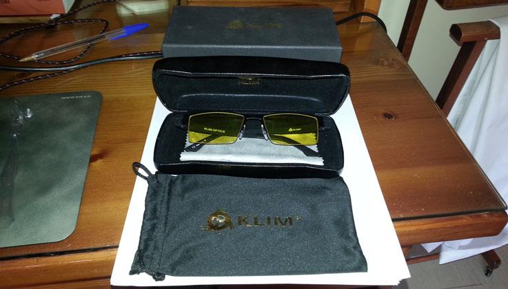 Confezione di KLIM Optics