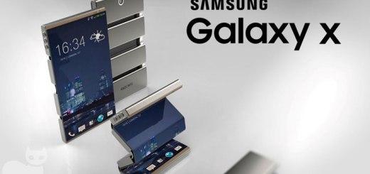 Prototipo del Samsung Galaxy X