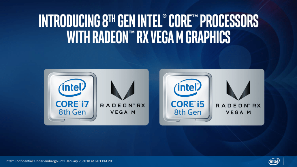 Intel G Series, i nuovi processori di Intel e AMD