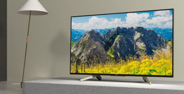Televisori Sony 2018: XF75