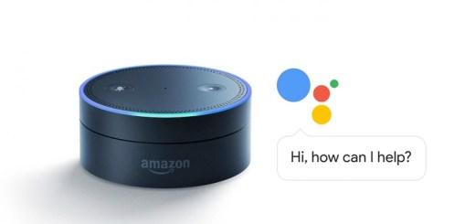 Google Assistant su Alexa