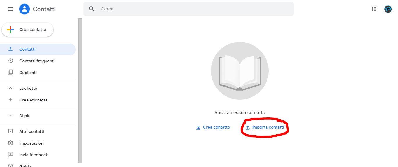 Come importare email e contatti di Libero o Virgilio su Gmail 1