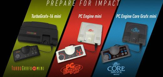 Rivelata la lineup ufficiale di PC Engine Mini, TurboGrafx-16 Mini e PC Engine Core Grafx Mini 1