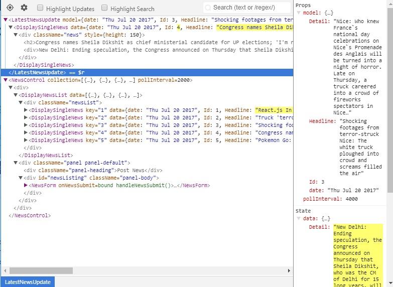 Replacing Backbone js views with React js views in a ASP NET