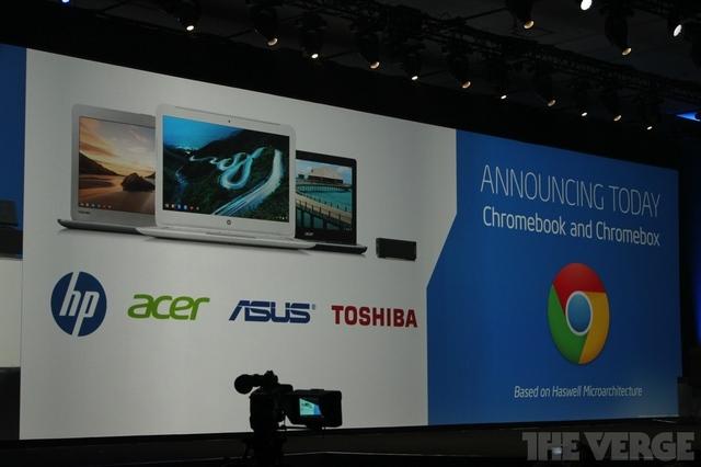 Intel haswell processor on google chromebook