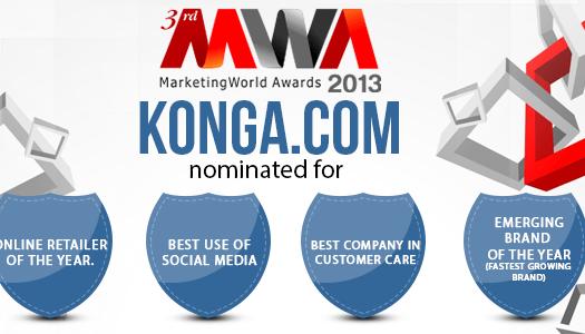 MWA 2013, Marketing World Awards 2013