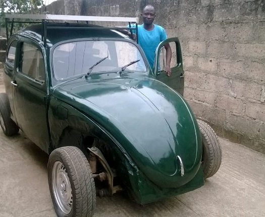 OAU Student Builds a Solar-Powered Car