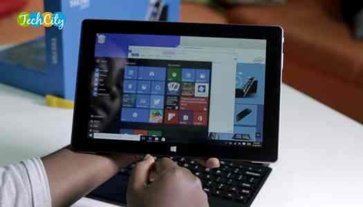 TECNO WinPad 10 offers easy transition from a tablet to a PC