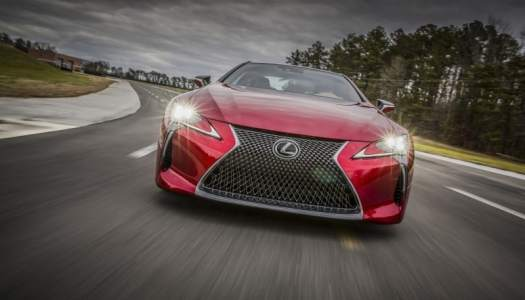 Luxury meets performance with the Lexus LC500