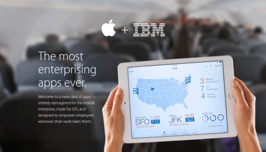 IBM and Apple (store) introduce Watson technology on mobile to help professionals and businesses.