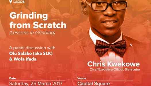 Startup Grind Lagos hosts Chris Kwekowe at her March Meetup