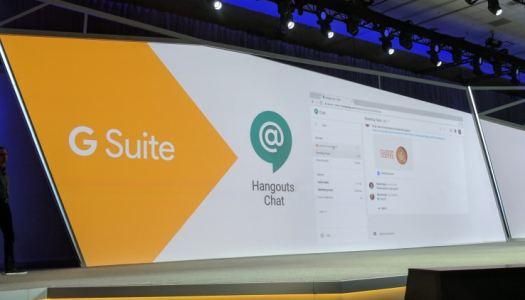 Google Hangouts is now Hangouts Chat & Hangouts Meet