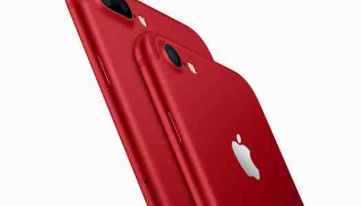 Apple introduces red iPhones, launches new iPad