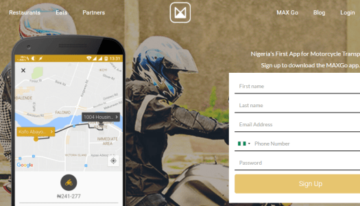 Meet MaxGo – an Uber that uses motorcycles to get people around Lagos