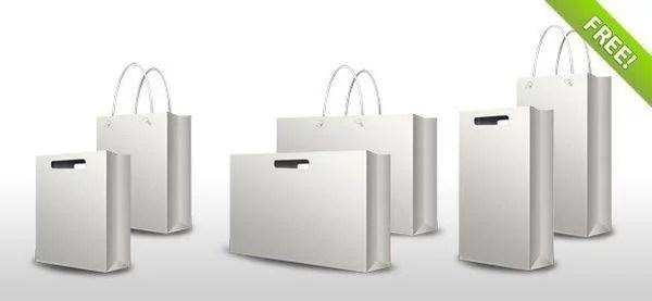 24 Free Shopping Bag Mockup PSD TechClient