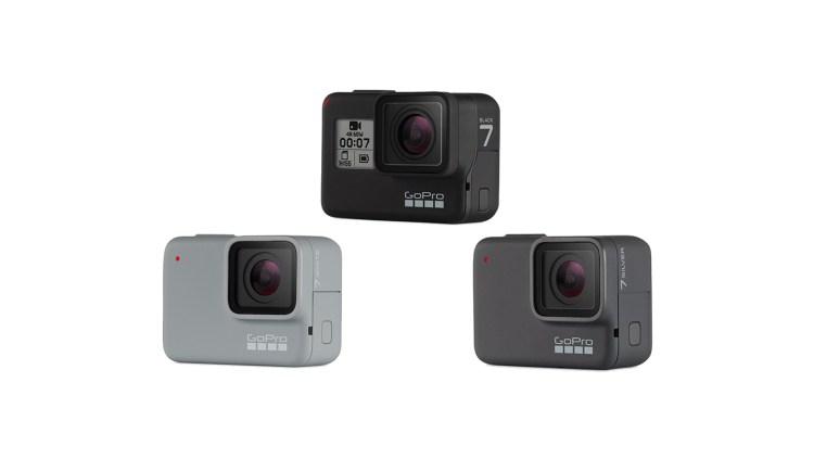 three cameras Gadgets