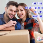 Top Tips To Help First-Timers Navigate The Fast-Paced Housing Market