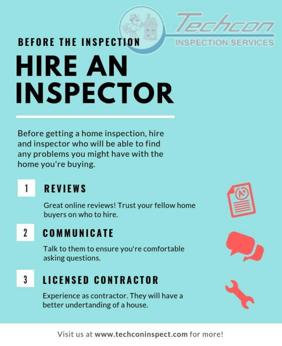HIRE AN INSPECTOR-Home Inspection