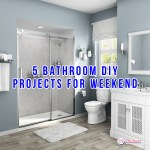 5 Bathroom DIY Projects For Weekend Warriors