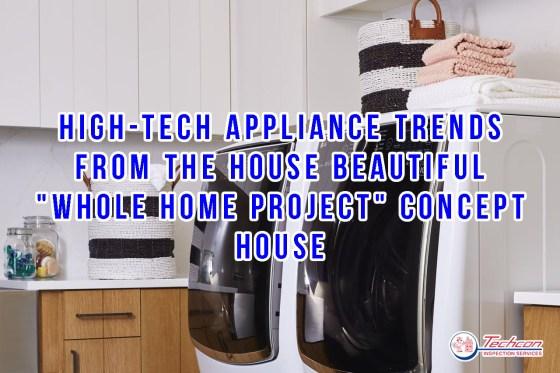 high tech appliances-trends