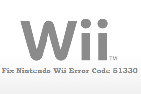 How To Fix Nintendo Wii Error Code 51330 : Solved