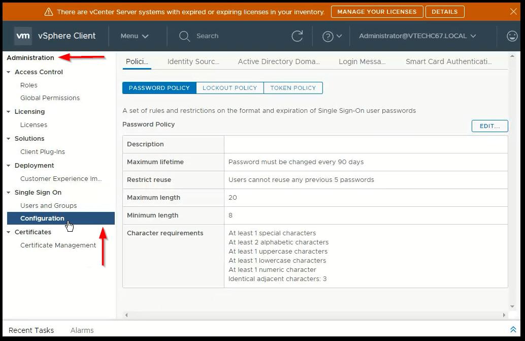 vCenter Server 6.7 : PSC