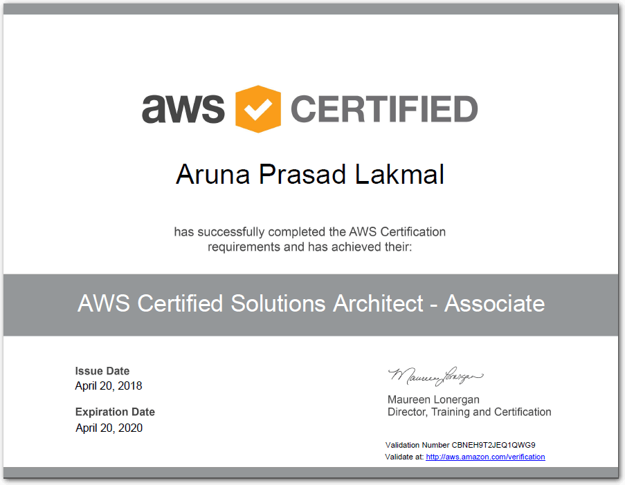 AMAZON AWS TRAINING PDF - AWS-SysOps dumps pdf questions