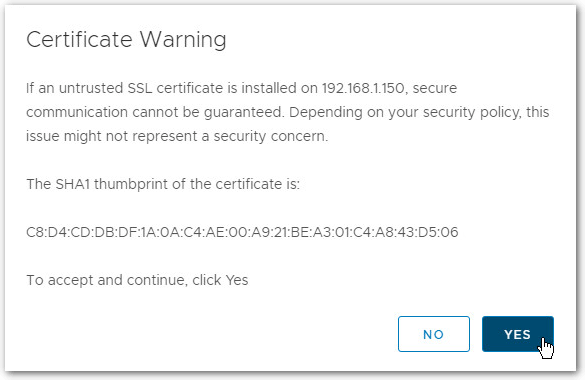 Migrate Windows Based vCenter Server to VCSA 6.7 : Certificate