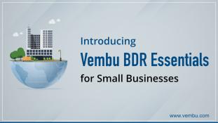 Vembu BDR Essentials: Intro