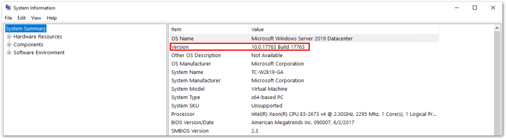 Windows Server 2019 Generally Available: Server Version