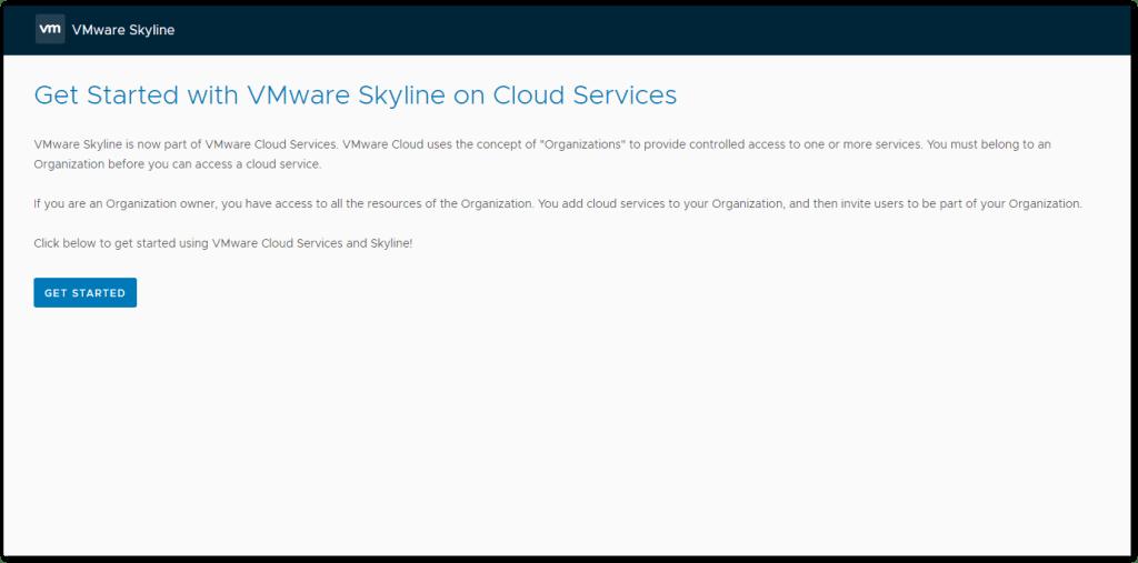Token For VMware Skyline Collector : Get Started