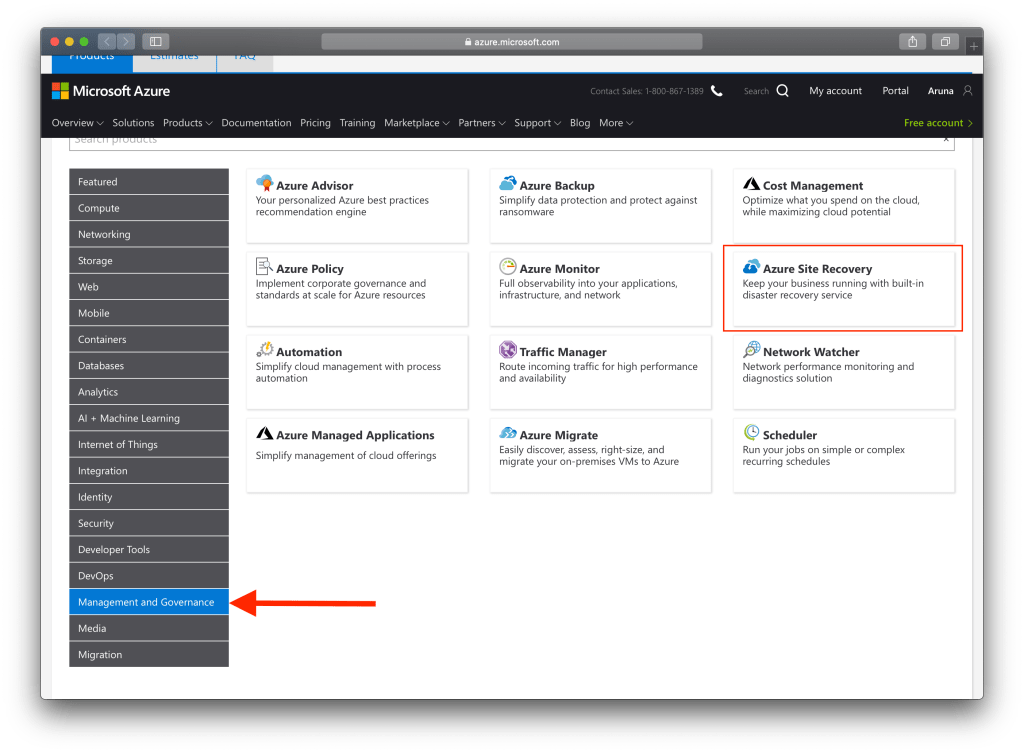 How To Use Microsoft Azure Pricing Calculator : ASR for pricing