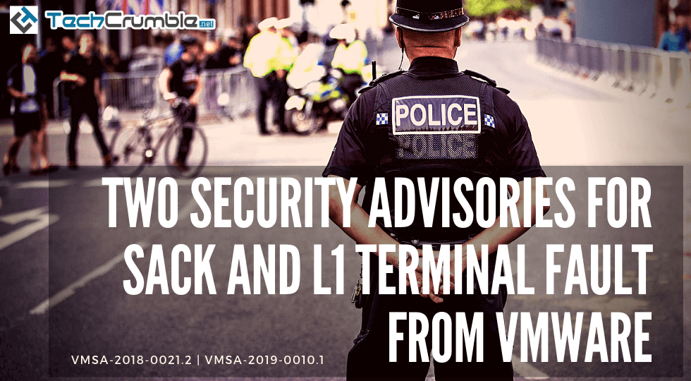 Two Security Advisories For SACK And L1 Terminal Fault From