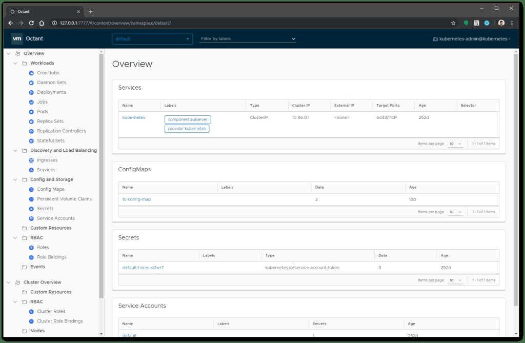VMware Octant Overview